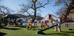 Cafe Roux - one of a collection of restaurants at the Noordhoek Farm Village